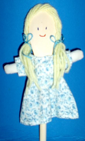 Colonial Spoon Doll