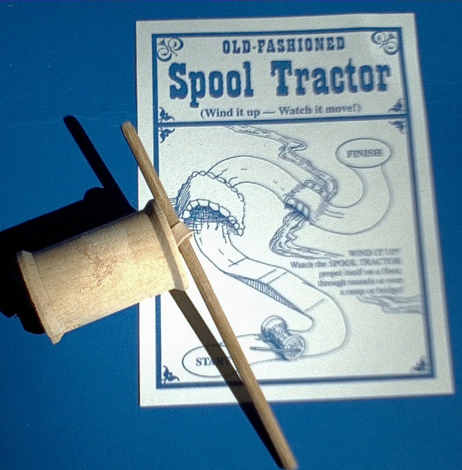 Spool Tractor