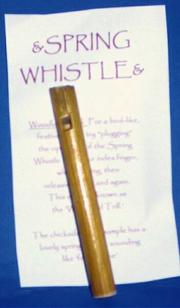 Spring Whistle