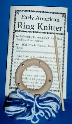 Early American Ring Knitter