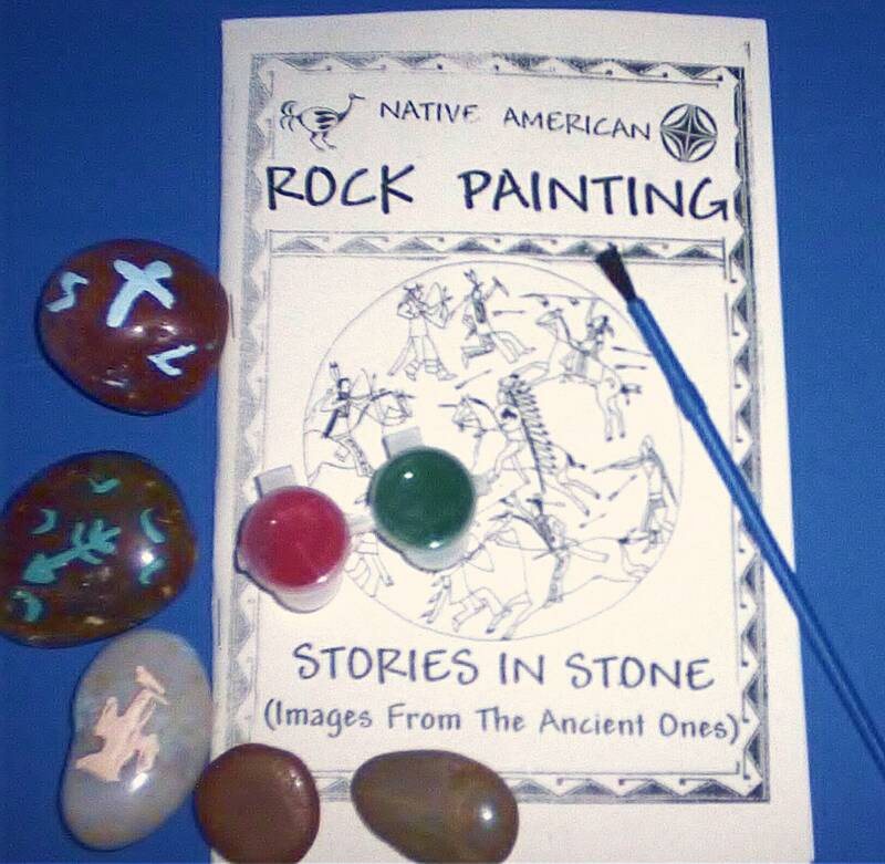 Native American Rock Painting Kit