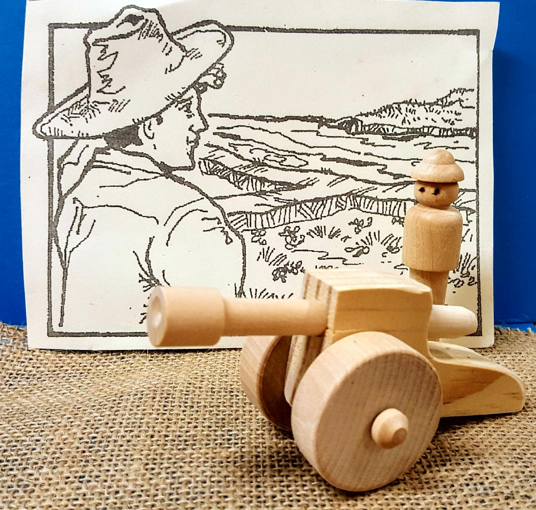 Toy Cannon Play Set