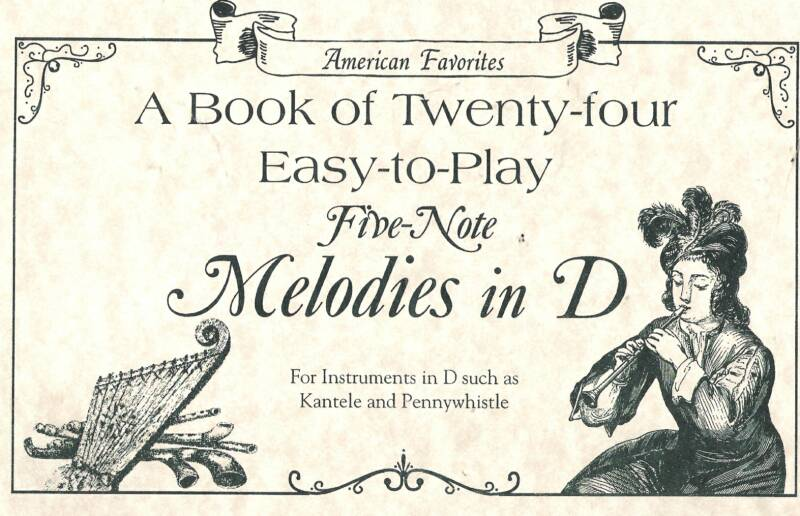 24 Easy-to-Play Five Note Melodies