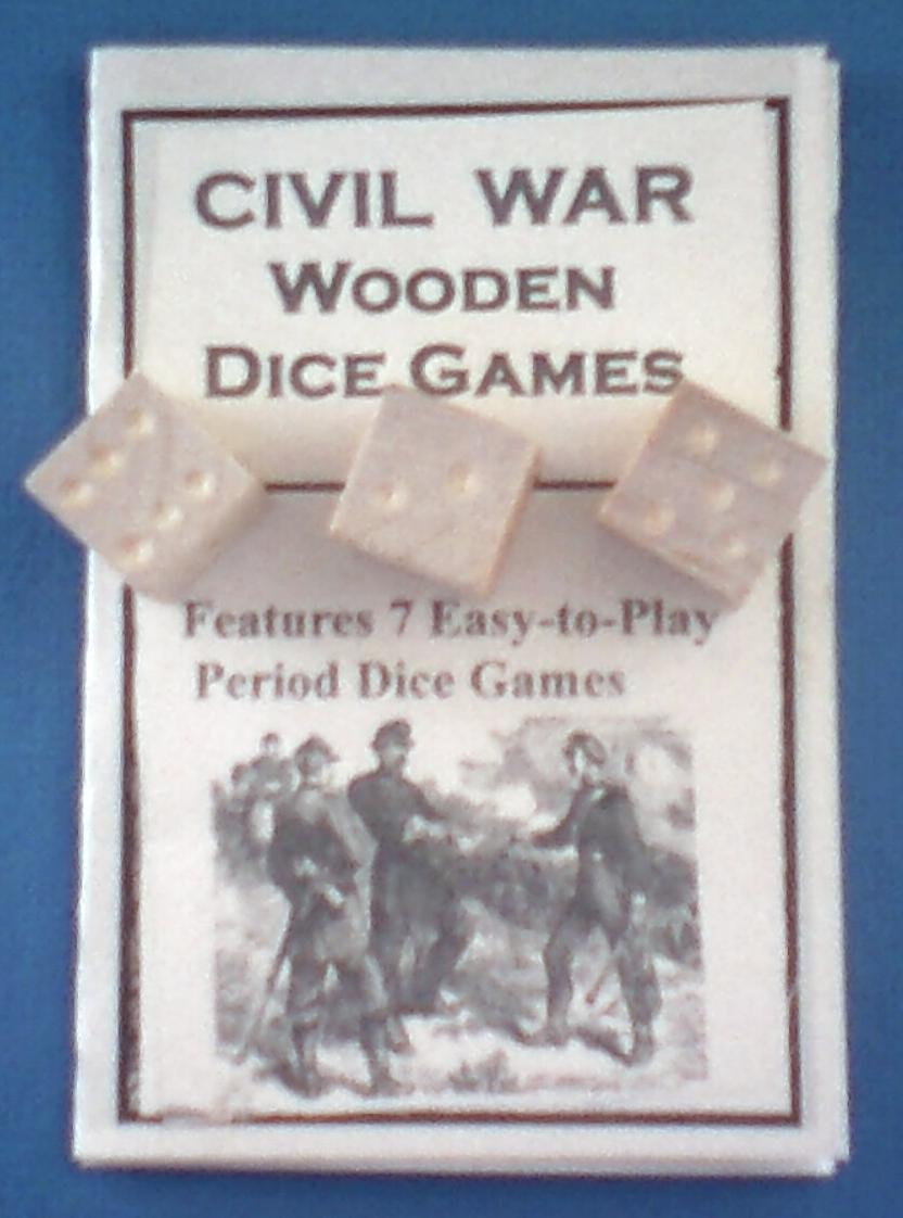 Civil war dice games