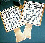 Early American Hornbook Game