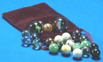 Glass Marbles Set