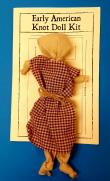 Early American Knot Doll Doll
